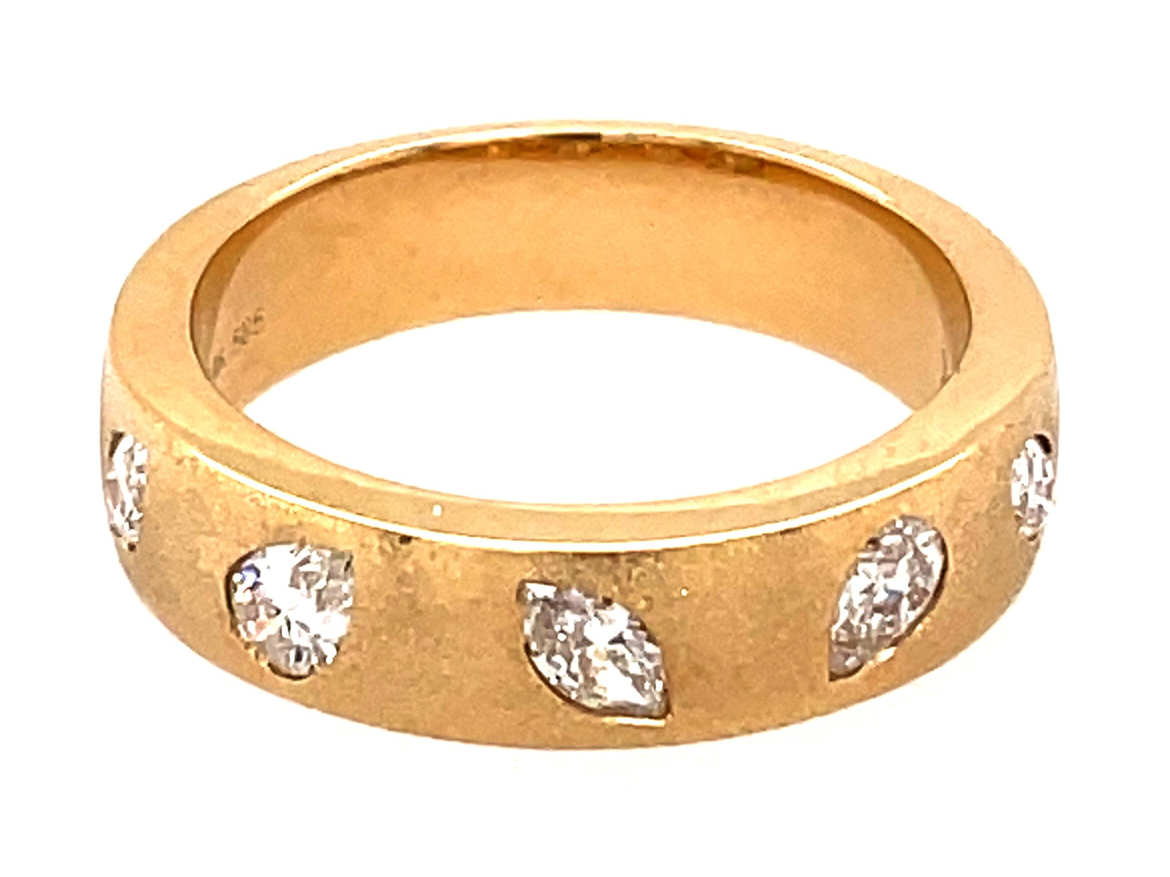 Diamond Pear & Marquise Flush Set Ring