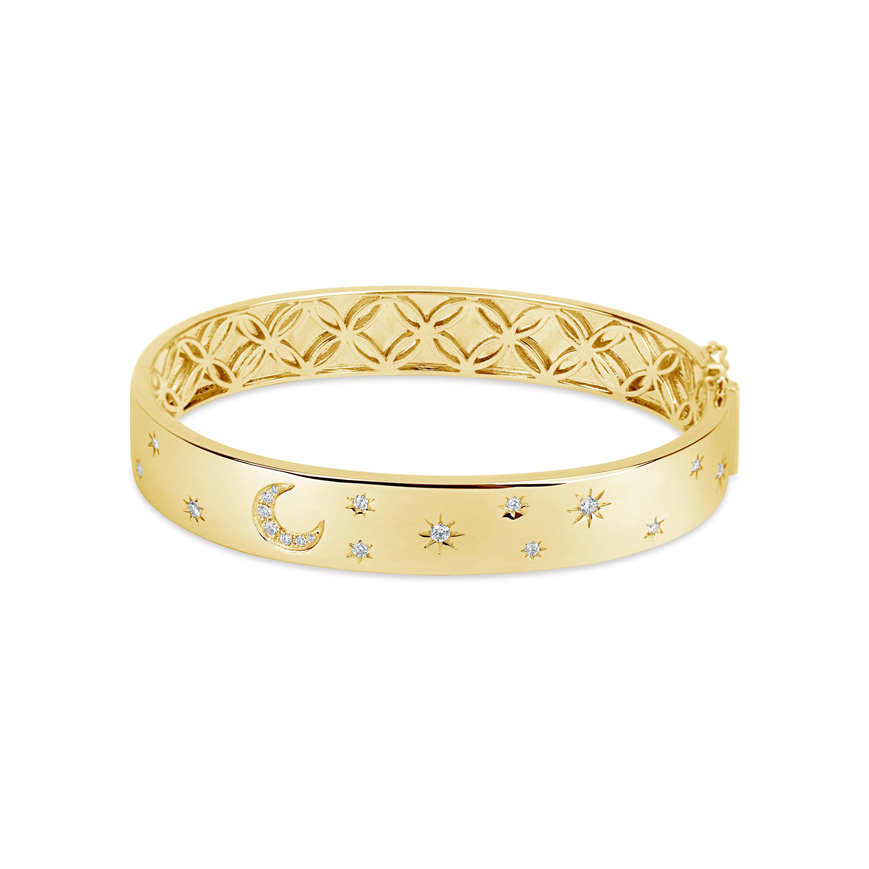 Diamond Celestial Bangle