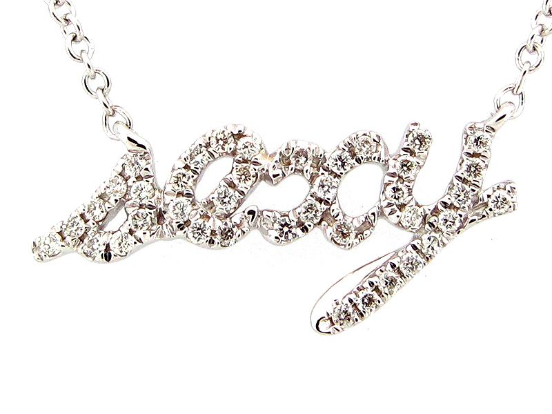 Diamond Sexy Pendant Necklace