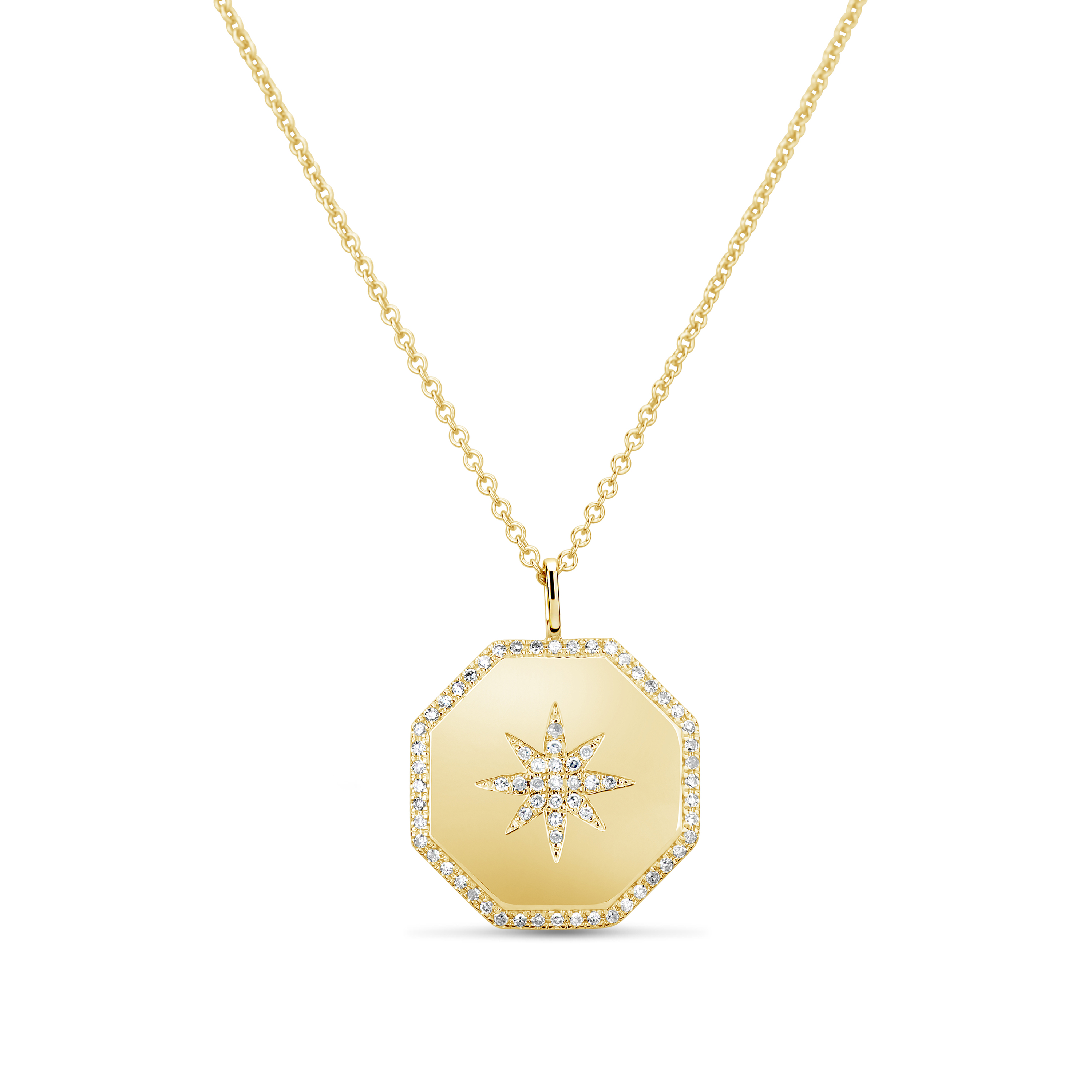 Diamond North Star Pendant