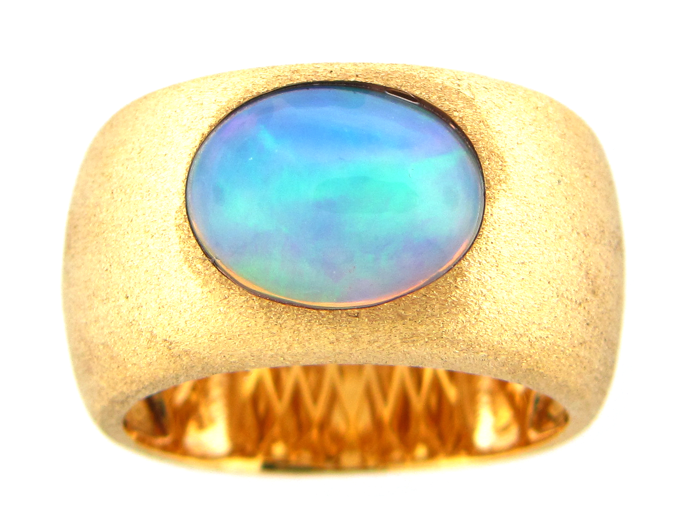 Opal Bezel Cigar Band