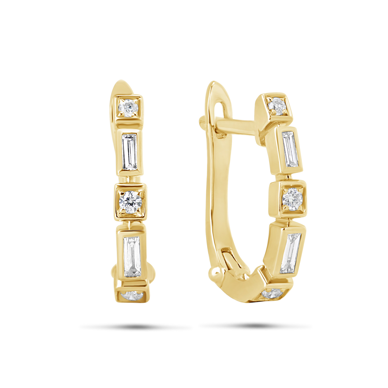 Diamond Element Earring