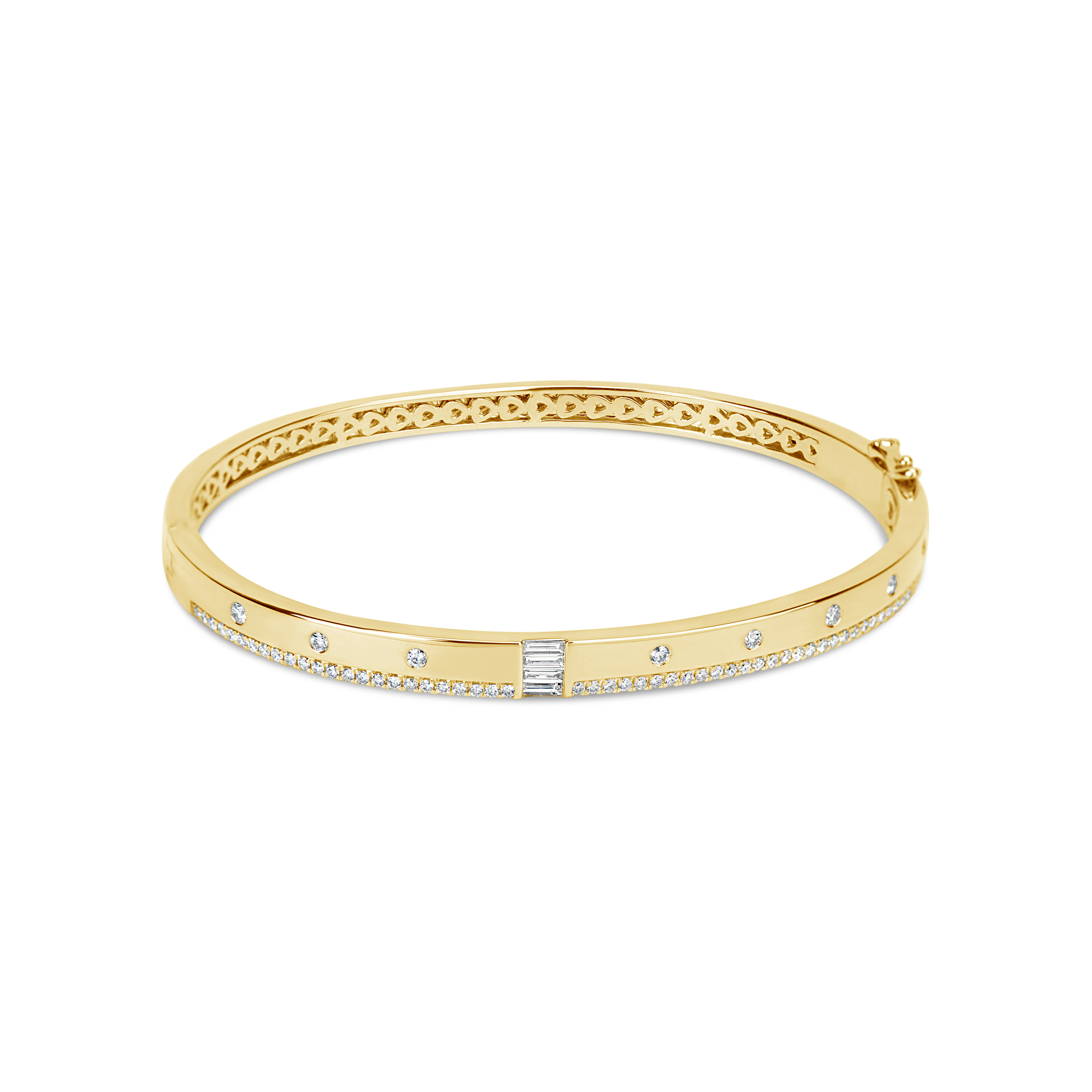 Diamond Flush Bangle