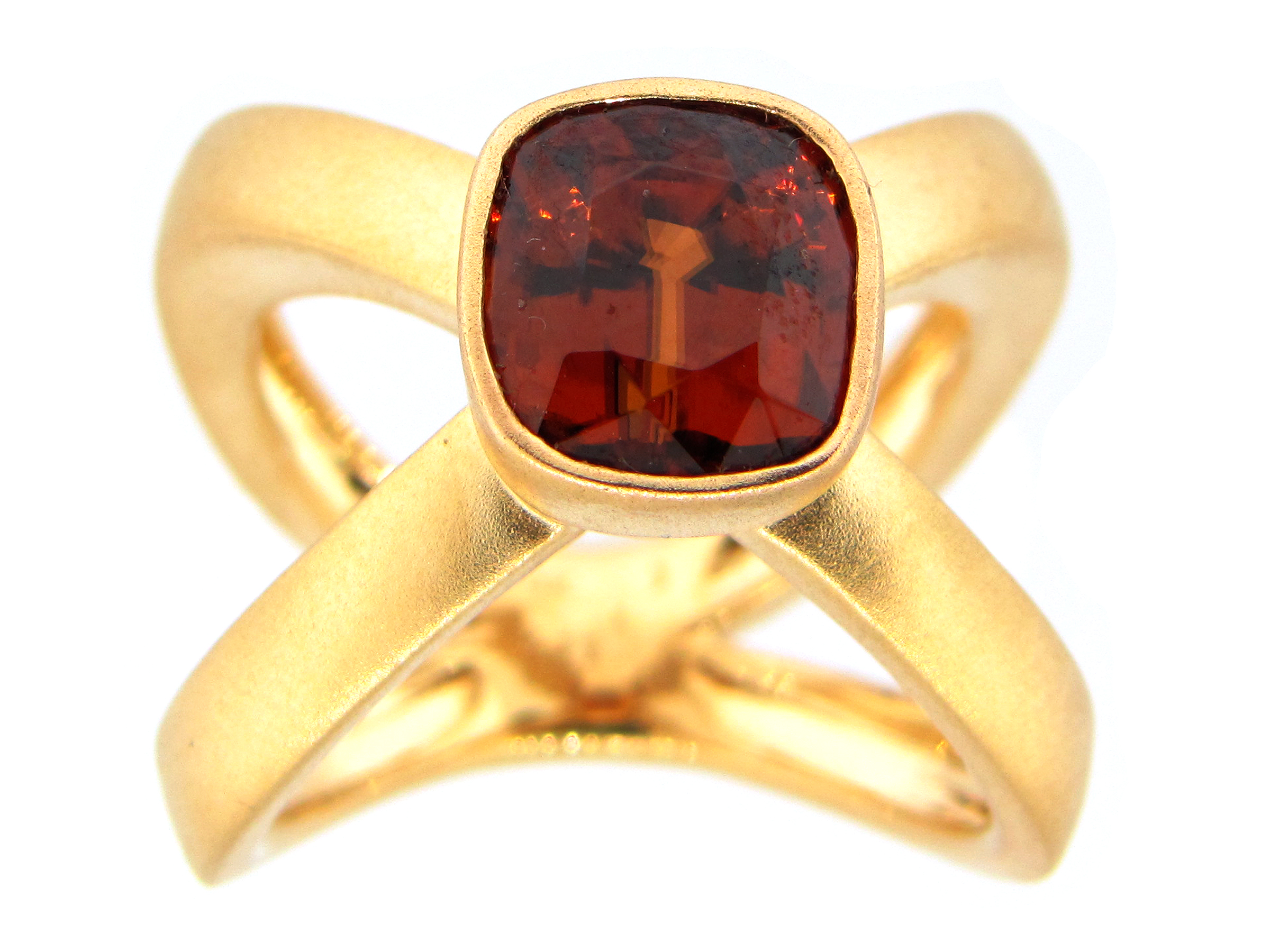 Red Zircon Ring