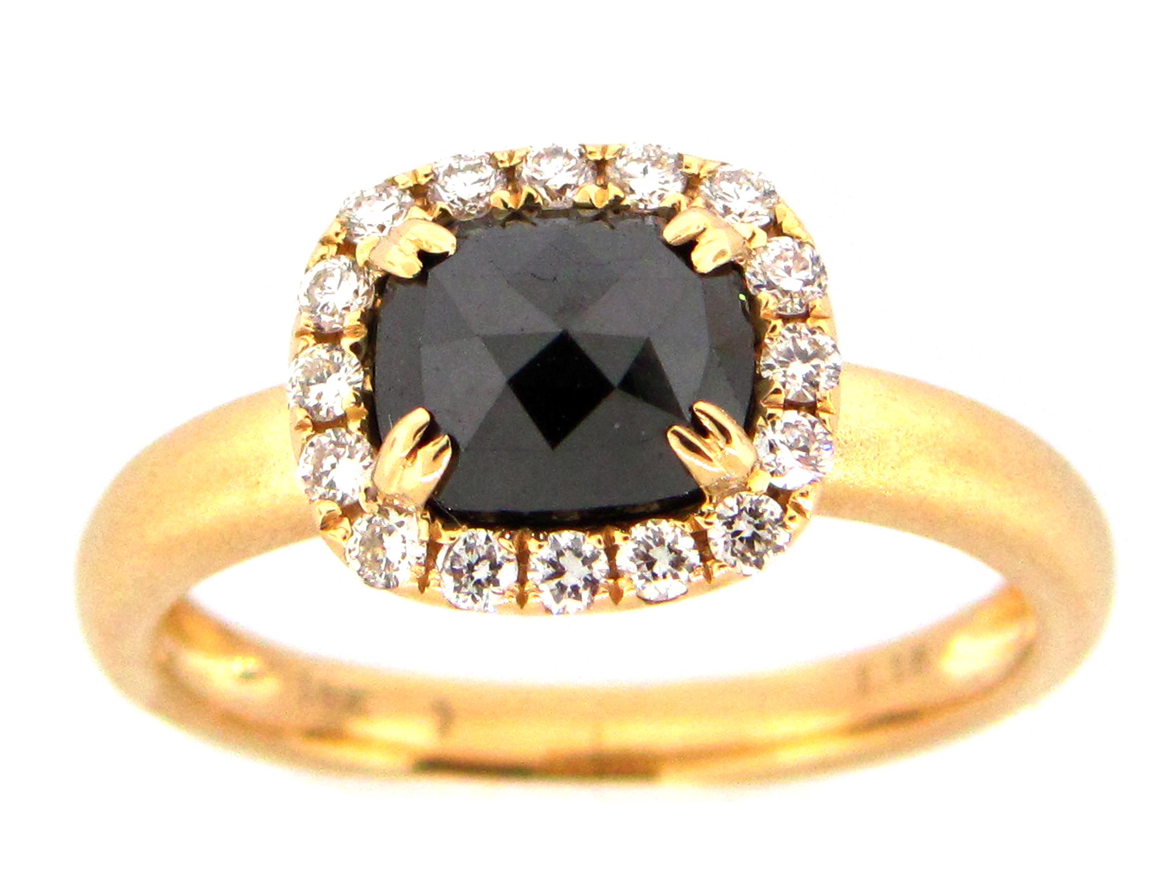 Black & White Diamond Ring