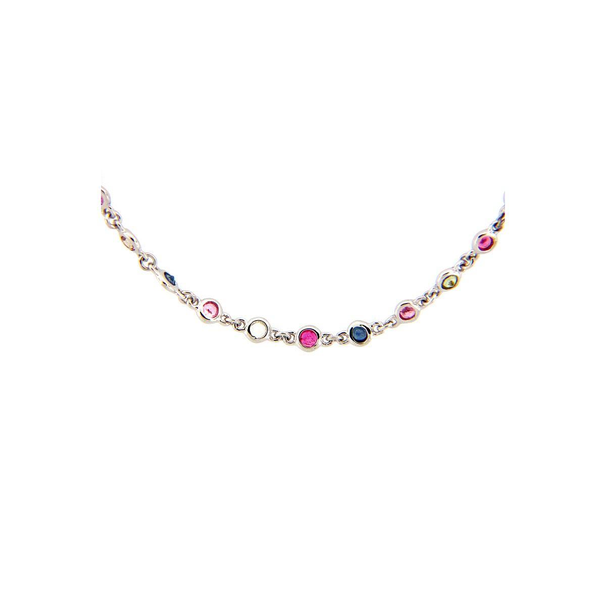 Rainbow Sapphire Chain