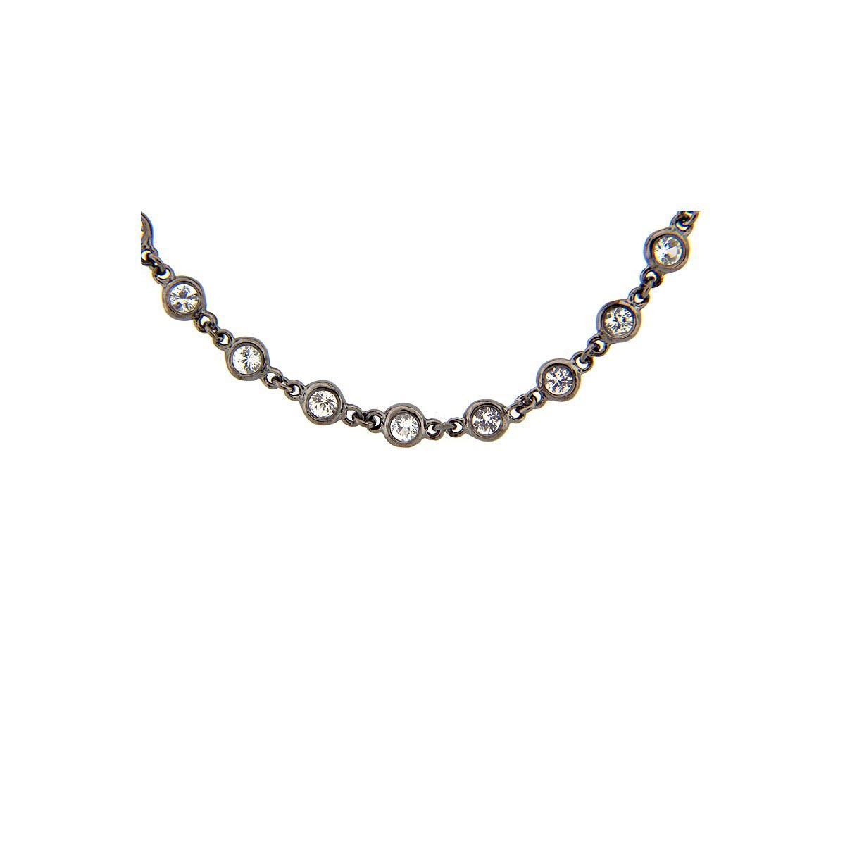 White Sapphire 40 Chain