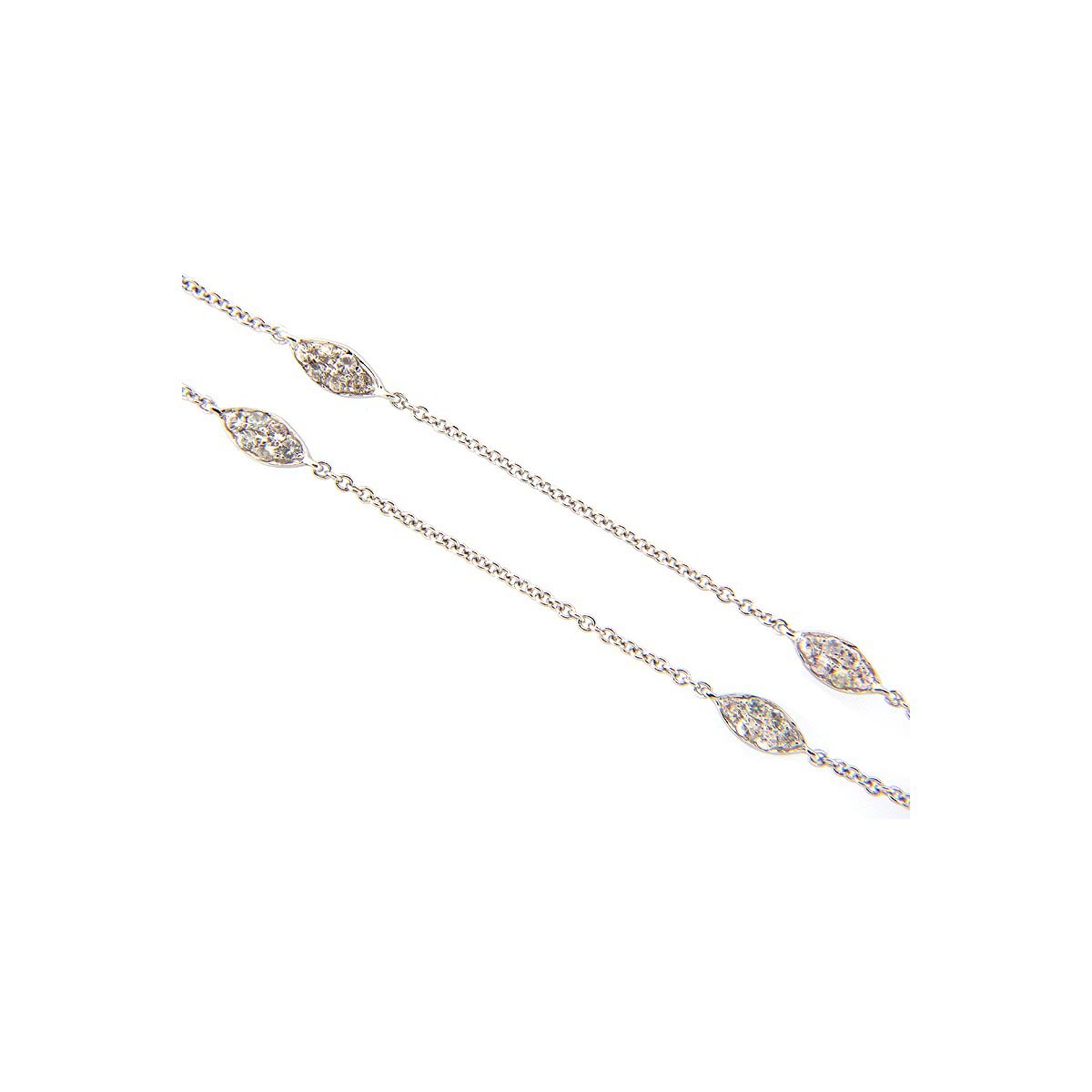 White Sapphire Chain