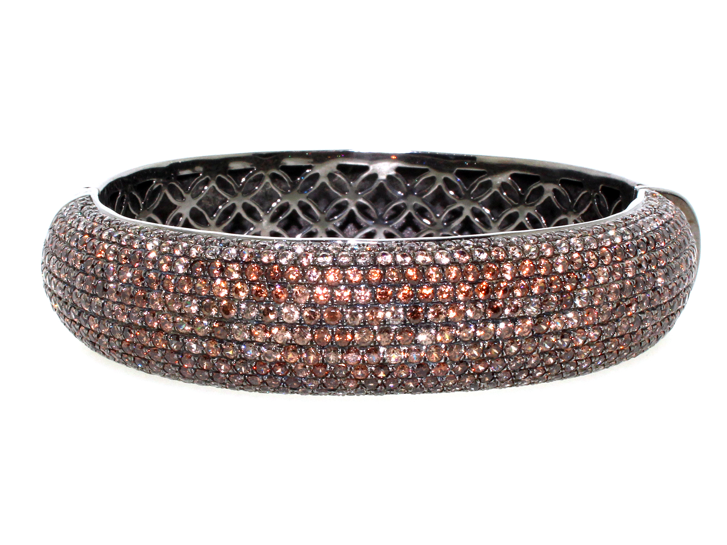 Brown Zircon Bangle