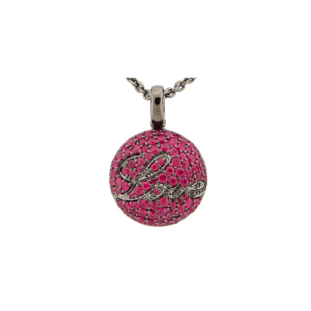 Ruby Love Pendant