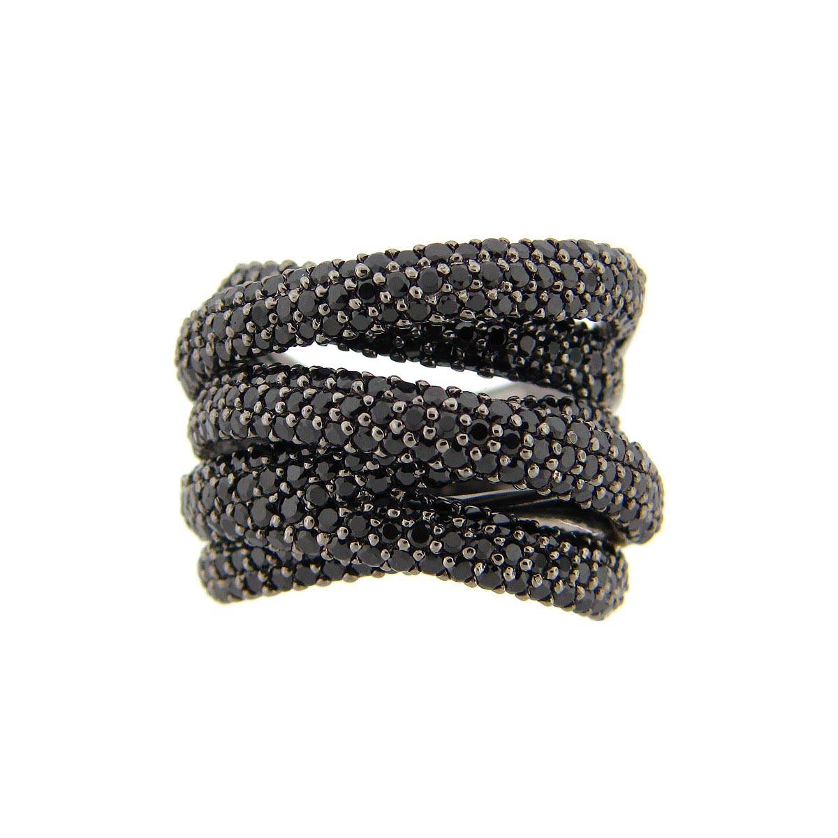 Black Spinel Ring