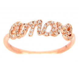 Diamond Amore Ring