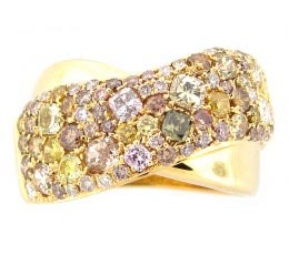 Fancy Color Diamond Ring