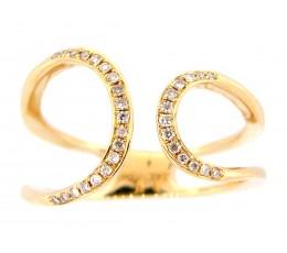Diamond Asymmetrical Ring