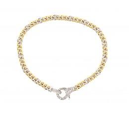Diamond Lobster Clasp Bracelet