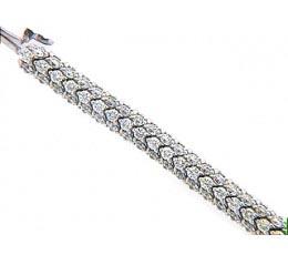 Micro-Pave Diamond Bracelet