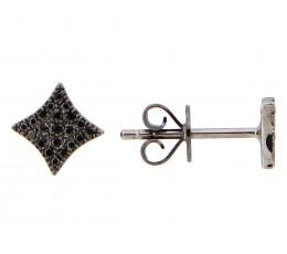 Black Diamond Earring