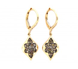 Fancy Color Diamond Earring