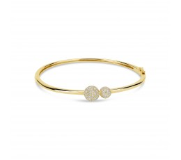 Diamond Ball Bangle