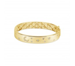 Diamond Celestial Bangle