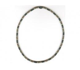 Black, Brown & White Diamond Necklace