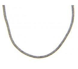 Pave Diamond Snake Necklace