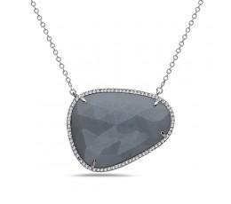 Grey Moonstone Pendant