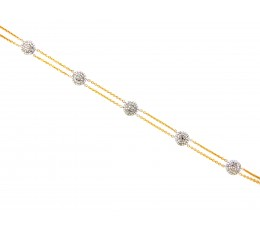 Diamond Disc 2 Row Choker