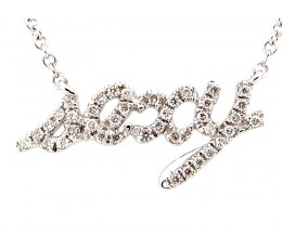 Diamond Sexy Pendant Necklace