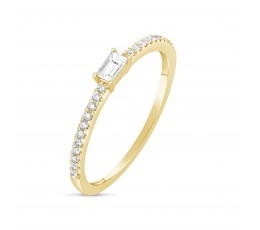 Diamond Baguette Ring