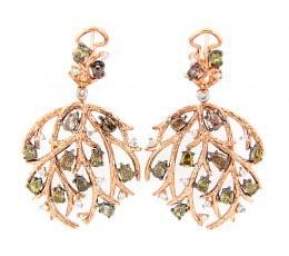 Fancy Color Diamond Earring
