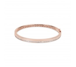 Diamond Line Bangle