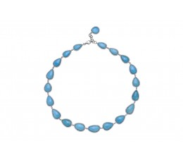 Turquoise & Diamond Necklace