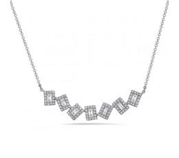 Diamond Pivoting Necklace