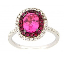 Pink Sapphire & Diamond R