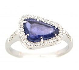 Sapphire Slice Ring