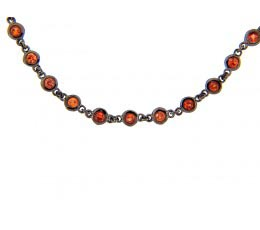 Orange Sapphire 32 Chain