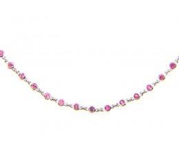 Pink Sapphire Chain