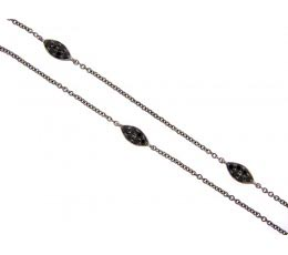 Black Spinel 18 Chain