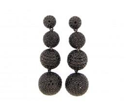 Black Spinel Earring