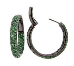 Tsavorite Earring