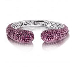 Pink Sapphire Bangle