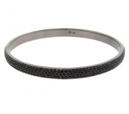 Black Spinel Bangle