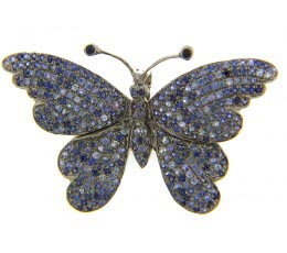 Sapphire Broach